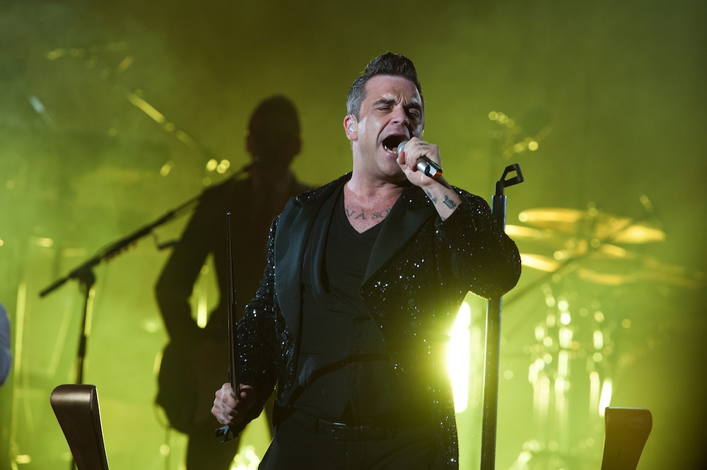 Win Tickets To Watch Robbie Williams In Wembley Park