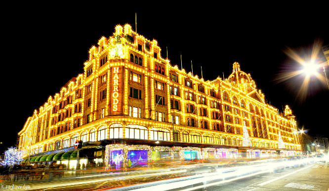 Harrods Have Released Their Own In-Store Sat Nav