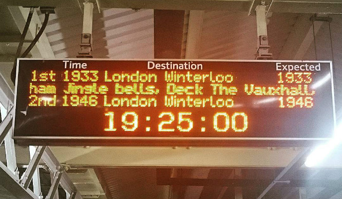 Next Stop, Winterloo! London's Stations Have Gone All Christmassy