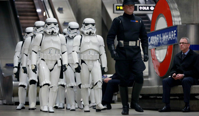 The Empire Is Here! An Army Of Stormtroopers Invaded London This Week