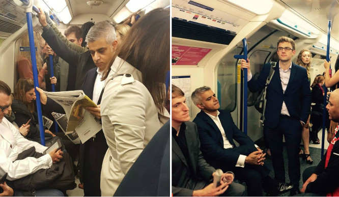 Just 6 Times Sadiq Khan Was Spotted Being Fab On Public Transport