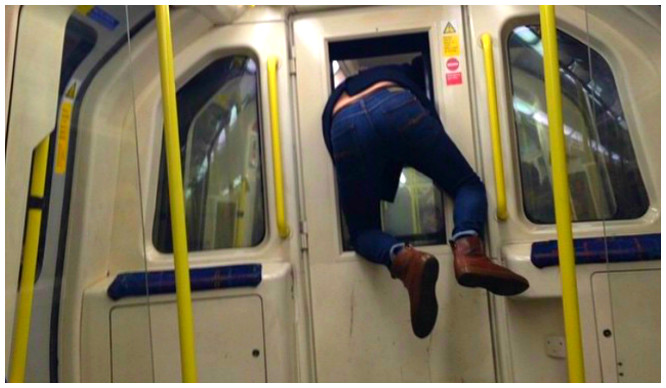 18 Utterly Hilarious Things That Have Happened On The Tube