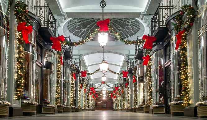 7 Stunning and Sparkly Festive Walkways In London