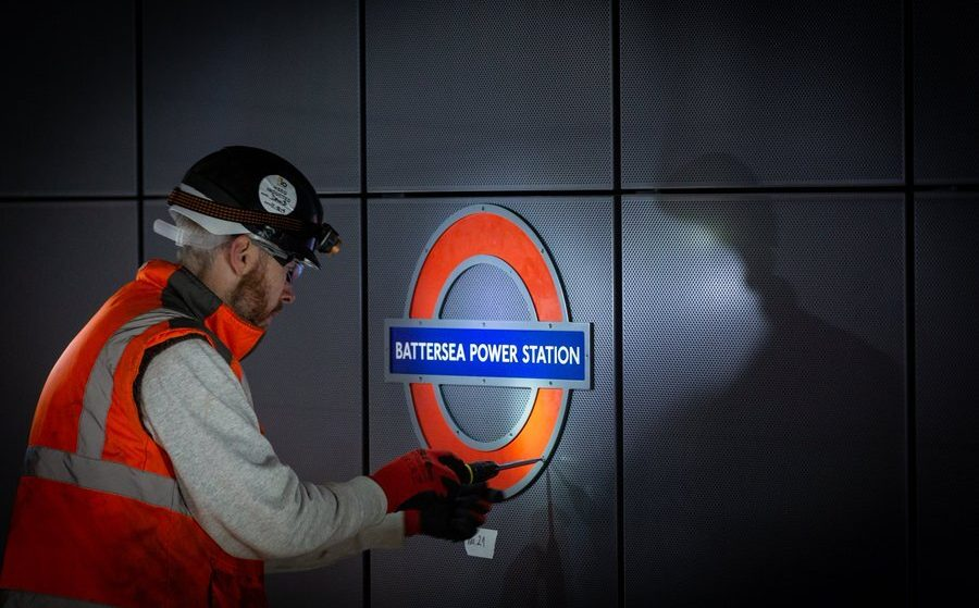 The Northern Line Extension To Battersea And Nine Elms Has Opened Today