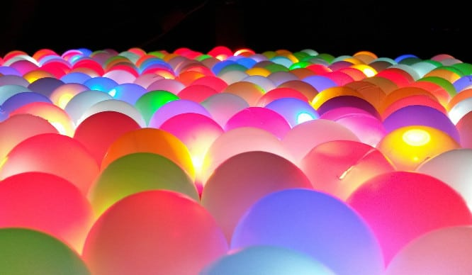 London's Underground Ball Pit Is Getting A Glow In The Dark Makeover!