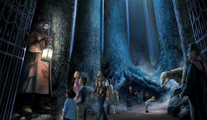 Harry Potter Fans! London Is Getting Its Very Own Forbidden Forest