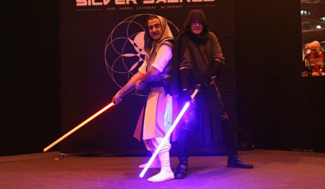 Feisty One You Are! You Can Now Take Light Sabre Classes In London