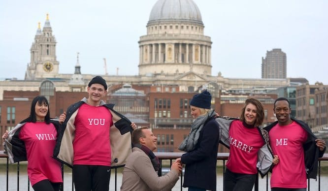 There Could Be A Mass Flash Mob Proposal In London This Valentine's Day