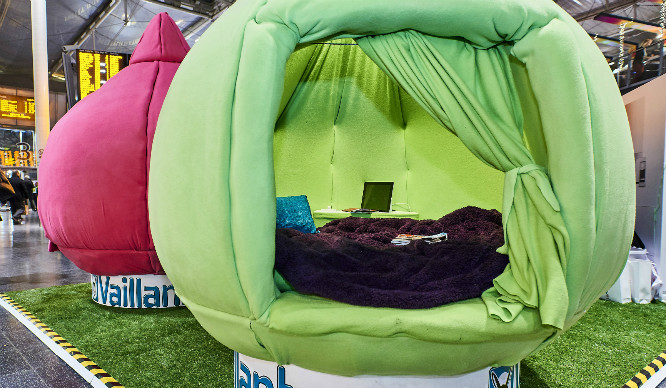 These Amazingly Cosy Snuggle Pods Have Landed In London!