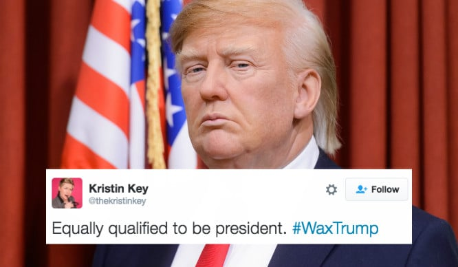 These Reactions To The Donald Trump Wax Figure Are Absolutely Priceless