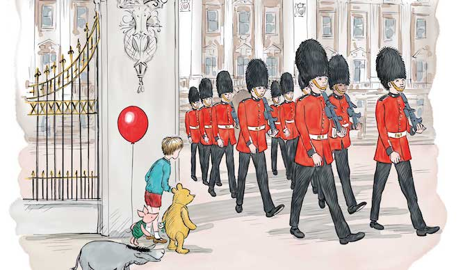 If Londoners Were Winnie-The-Pooh Characters