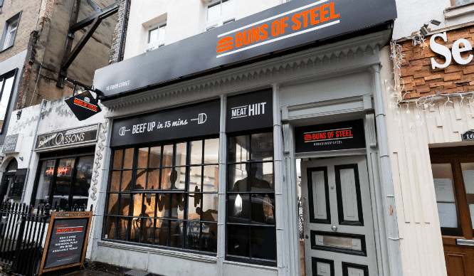 There's A Burger Joint In London That's Disguised Itself As A Gym