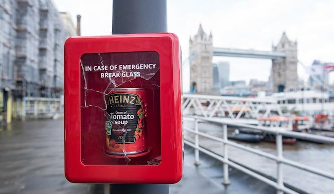 Heinz Are Hiding Free 'Emergency' Soup Around London…