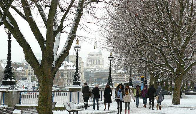 So, London Might Get Some Snow This Week!
