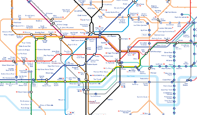 The London Underground Map Has Been Given A Very Dapper Makeover