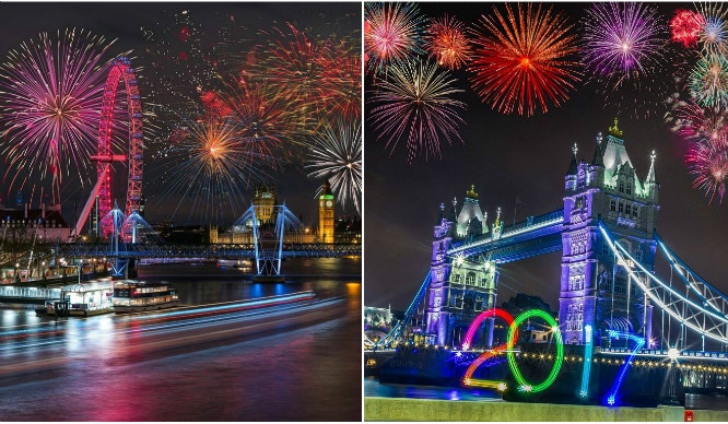 10 Incredible Pictures That Prove London Does New Year's Eve The Best