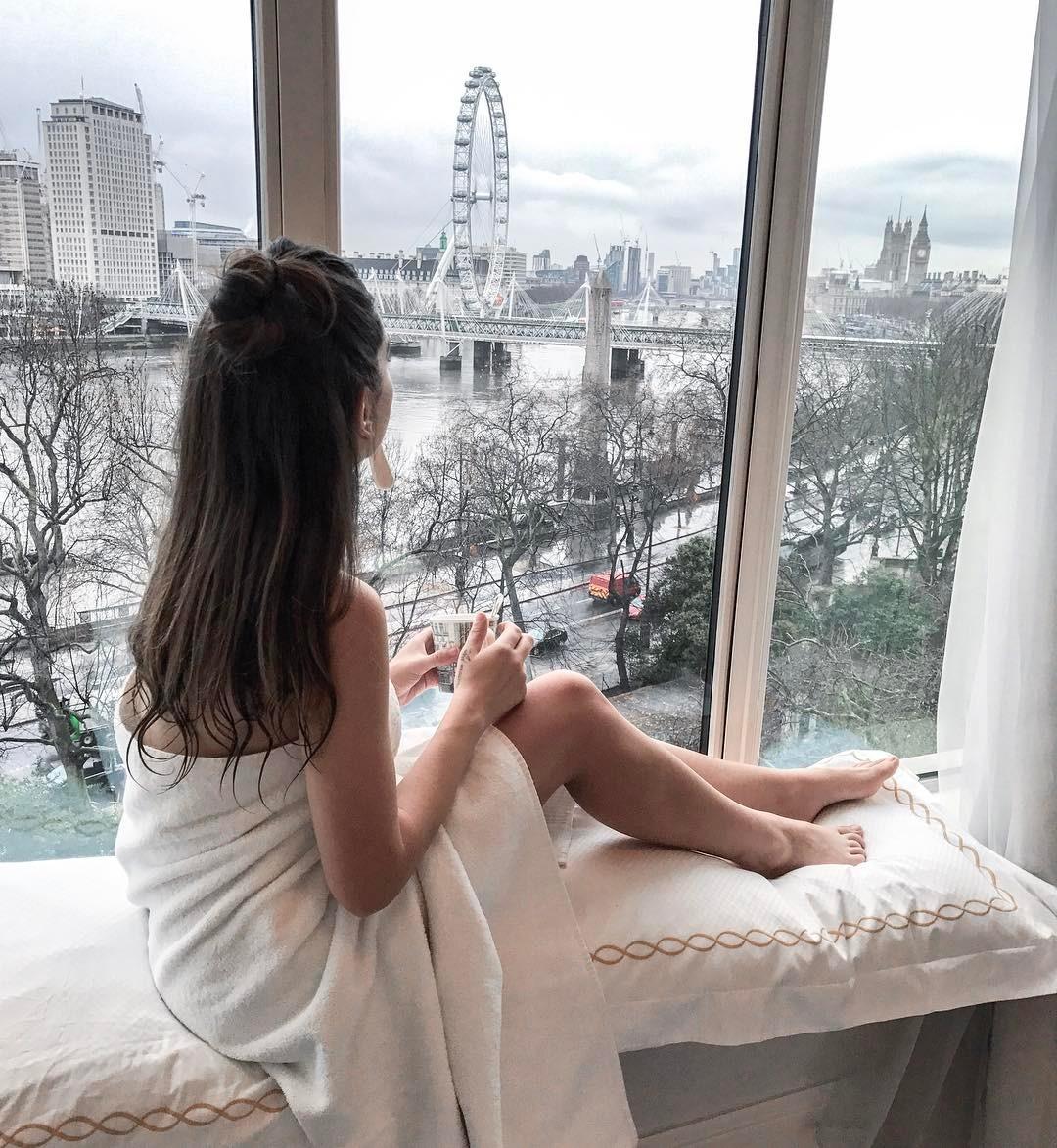 Romantic hotels Savoy window view