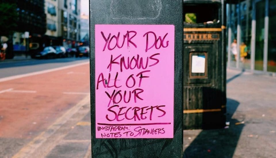 Someone's Been Leaving These Lovely Notes Around London To Brighten Your Day