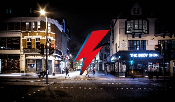 Bowie Fans Are Hoping To Get A Giant Lightning Bolt Memorial In Brixton