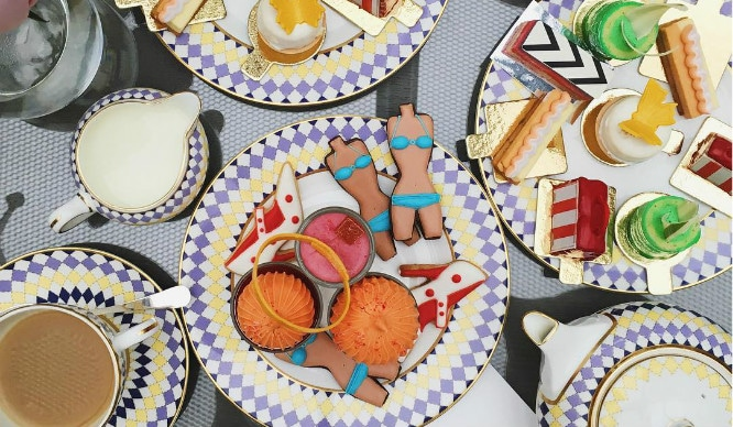 OMG, Shoes! Is This The Most Fashionable Afternoon Tea In London?