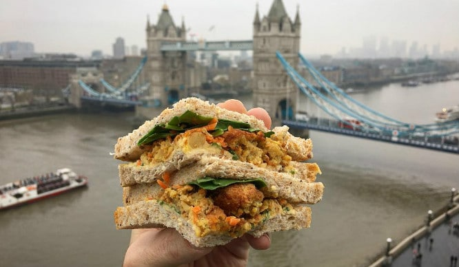 A Tour Of London In Sandwiches (Just Roll With It…)