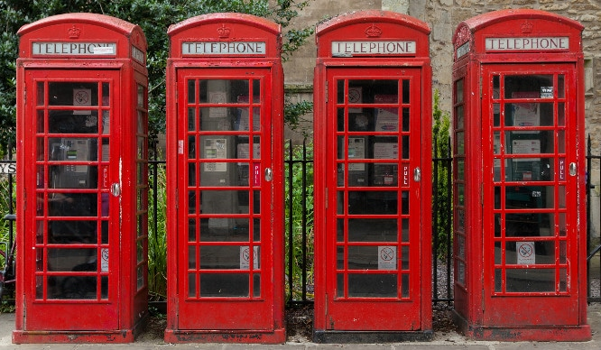 Say Goodbye To London's Iconic Red Telephone Boxes!