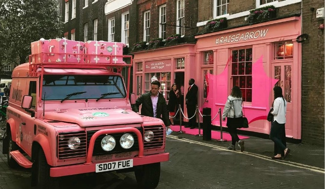 London's First All Pink Pop-Up Opens Today And It's All In The Name Of Charity