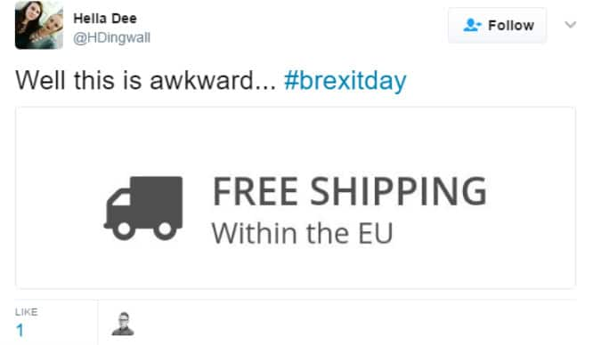 20 Tweets That Could Actually Make London Smile on #BrexitDay