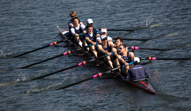 Oh Buoy! Get Excited For The Oxford Vs. Cambridge Boat Race This Sunday