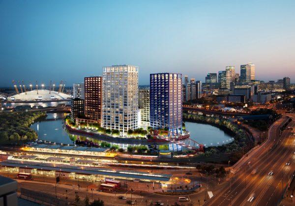 london-city-island-building