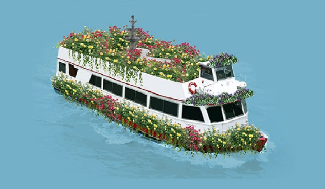 A Beautiful Floating Garden Is Coming To London!