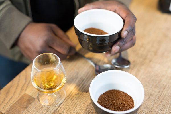 SMWS coffee and whisky