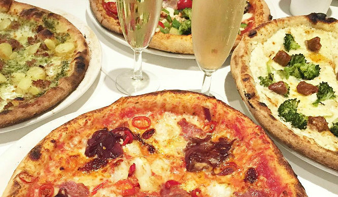 Pizza And Bottomless Booze!? This London Restaurant Is Sure To Steal A Pizza Your Heart
