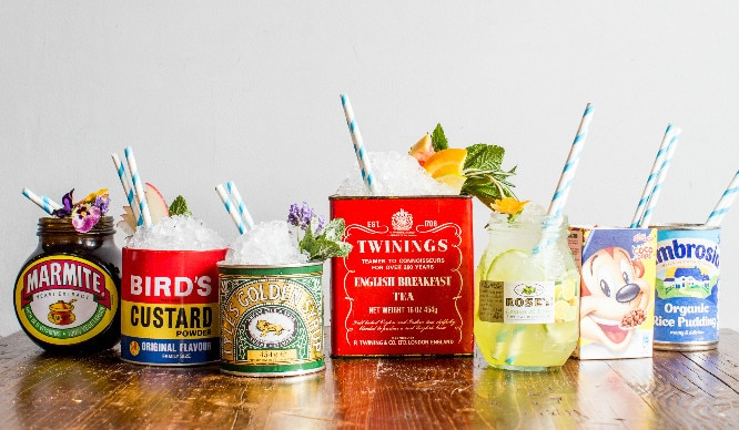 Drink Gin From Marmite Jars! Are These The Most English Cocktails In London?