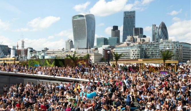 Sunglasses At The Ready! London's Largest FREE Outdoor Festival Is Back!