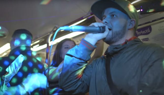 Was This Underground Rave The Most Exciting Thing That's Ever Happened On A Monday Commute?