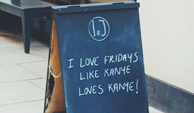 10 Funny London Sandwich Boards That Will Definitely Make You Smile