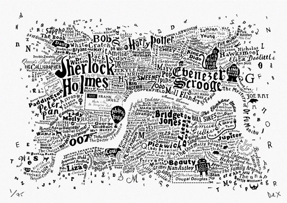 white-print-london