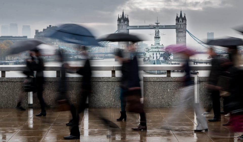 Met Office Issues Severe Weather Warning For Potential Flooding In London