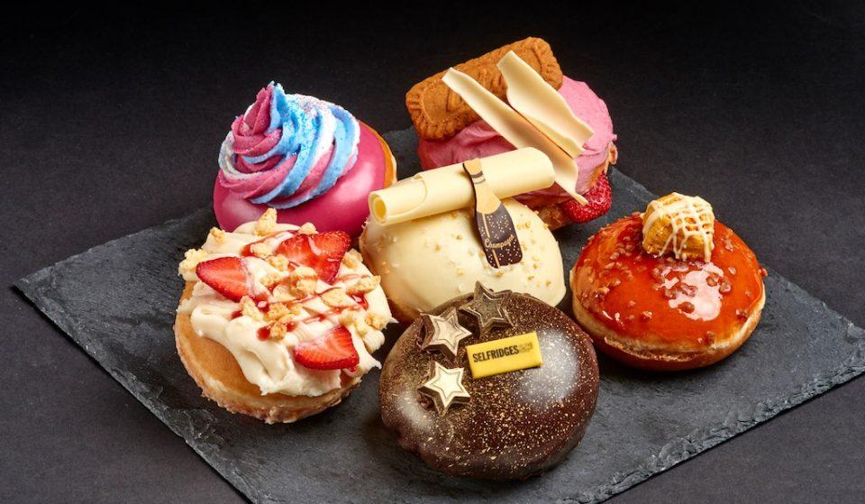 Krispy Kreme's New Doughnut Range Is Pretty, Pretty Posh