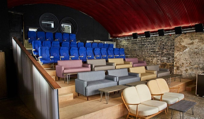 A Cinema AND A BBQ Restaurant? This Hackney Railway Arch Has It All