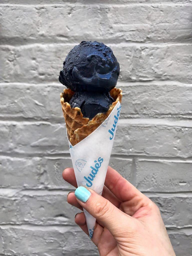 Jude's Black Ice Cream
