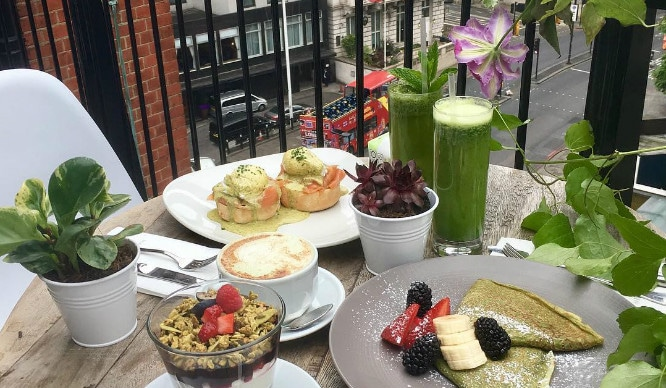 Go Green At Teapigs' Matcha Tea Terrace At Harvey Nichols