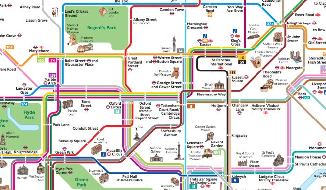 London's Buses Will Soon Be Colour-Coded Just Like The Tube Lines