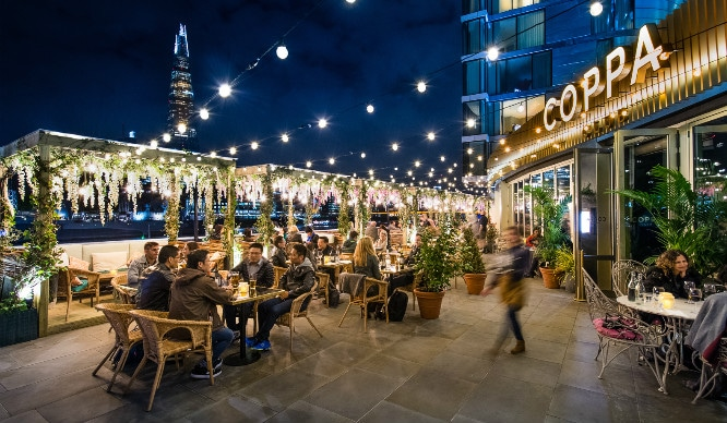 London's Riverside Igloos Have Been Replaced By Beautiful Mediterranean Pergolas