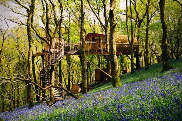20 Terrific Treehouse Holidays Near London