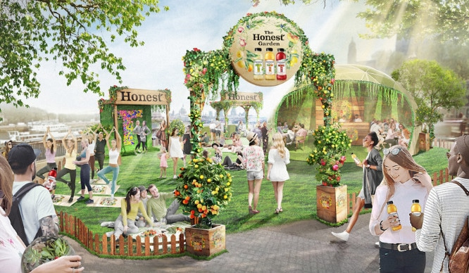 An Immersive Garden Sanctuary Is Coming To London's South Bank