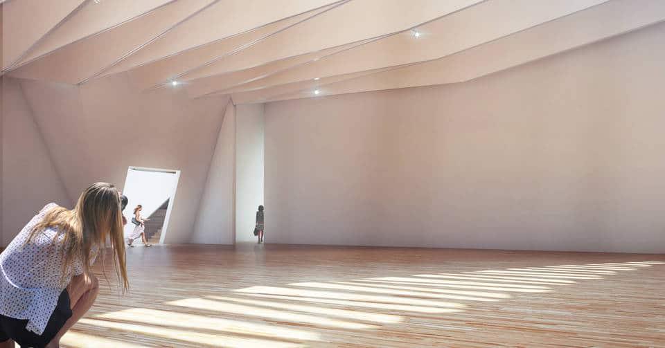va exhibition space