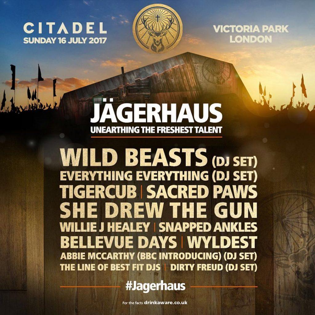Jägerhaus Citadel Line-Up 2017