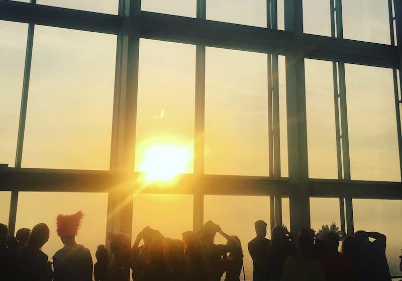 400 Londoners Welcomed In The Solstice From The Top Of The Shard